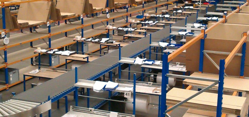 Ecommerce Packing Bench Packing Tables By Spaceguard