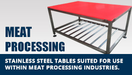 Meat Processing Tables