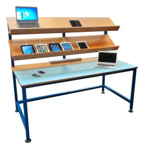Electrical Assembly Table in use