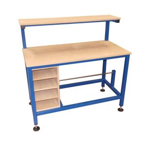 Packing Table with roll holder & storage