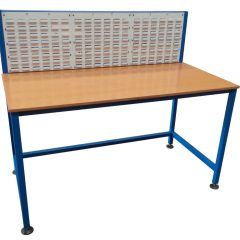 Packing Table with Louvre Panels
