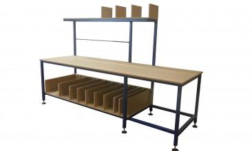 Large Bespoke Packing Table