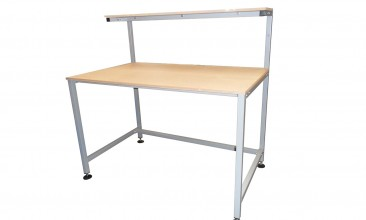 Packing Table with Upper shelf