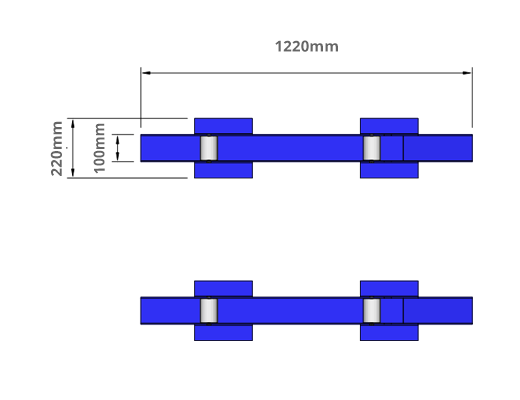 adjustable cable drum dimensions