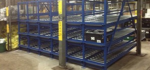 Post Pallet Storage Rack