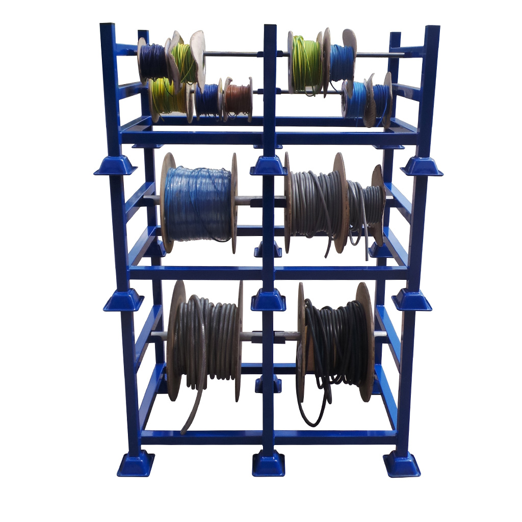 Cable Drum Storage Rack Packing Tables By Spaceguard