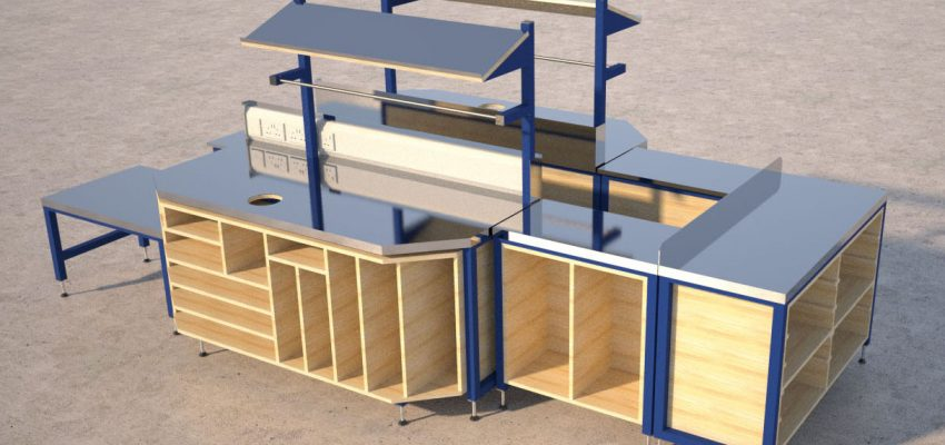 Packing Tables Manufactured By Spaceguard Packing Tables