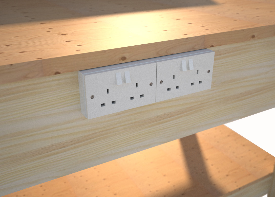 workbench-with-sockets