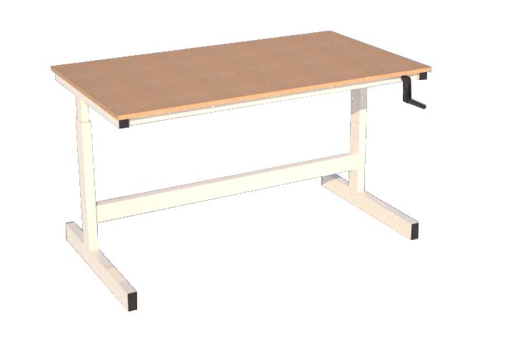 mechanically adjustable bench