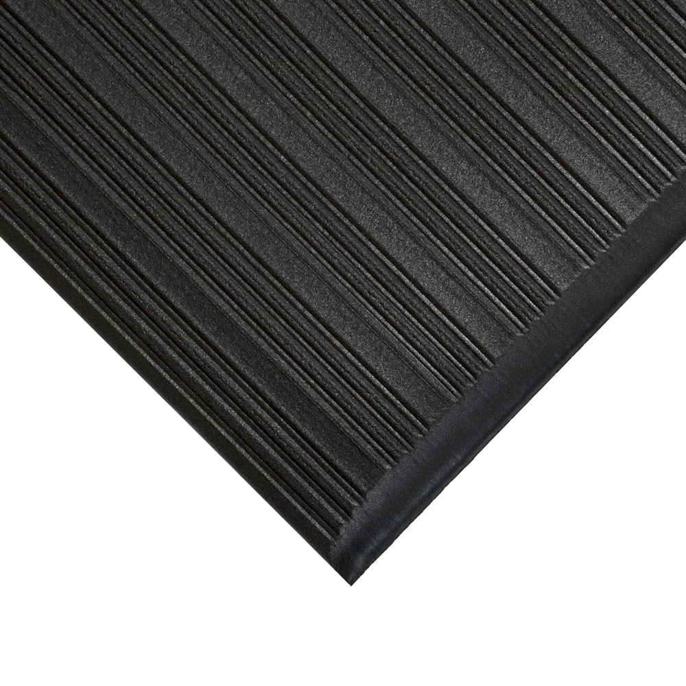 ribbed non slip industrial floor mats
