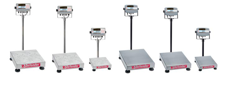 Packing weighing scales