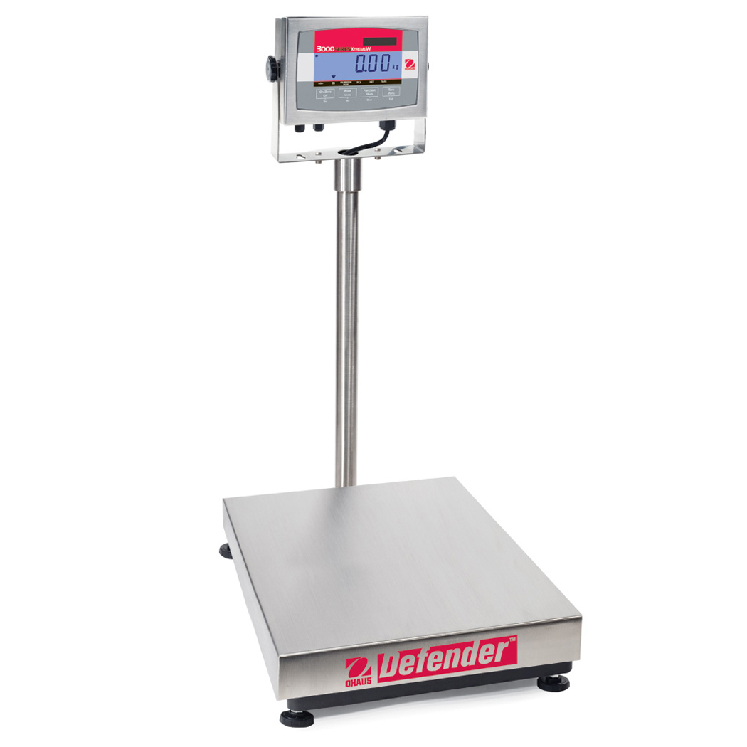 bench packing scales
