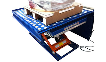 Ball table scissor lift table