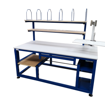 Custom height adjustable workbench