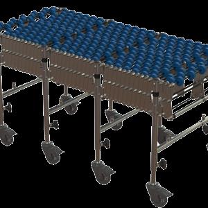 Expandaveyor – PVC Skatewheel – 12 Axel Heavy Duty