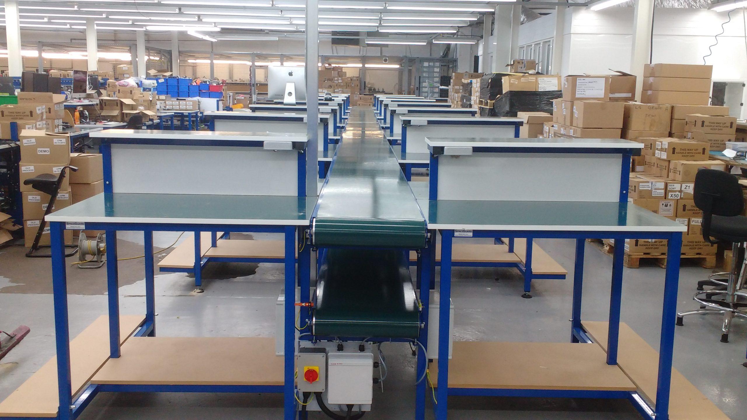 conveyor assembly line