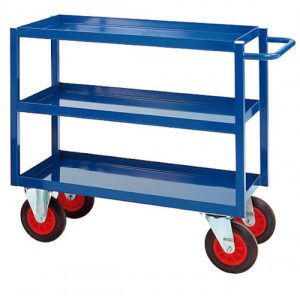 Heavy Duty 3 Tray Trolley
