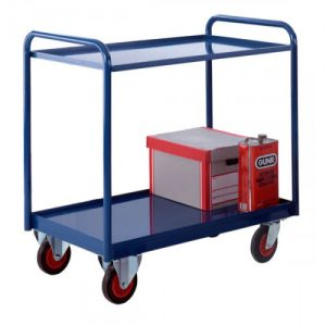 Industrial 3 Tray Trolley