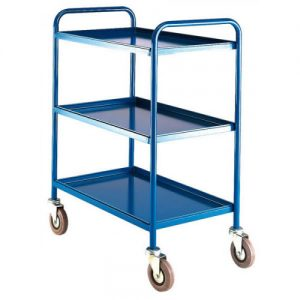 Medium Duty Tray Trolley –  3 trays