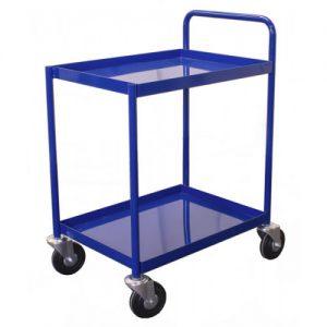 Straight Handle Shelf Trolley