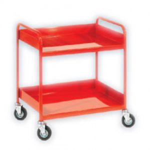 Straight Handled Shelf Trolley